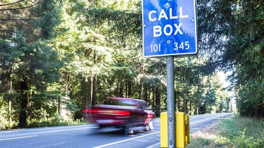CASE Always on the job Lexan Call Box Emergency Phone Installation