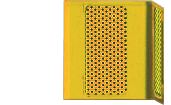 Blue Light Tower Single Speaker Yellow