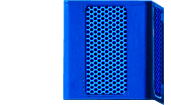 Blue Light Tower Single Speaker
