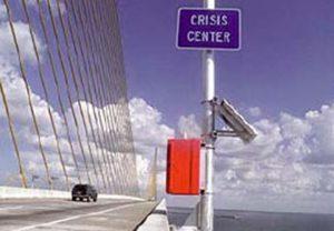 Bridge Lexan Call Box Emergency Phone Installation