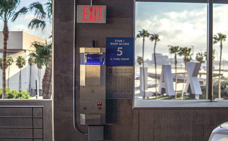LAX E-Phone Emergency Phone Installation