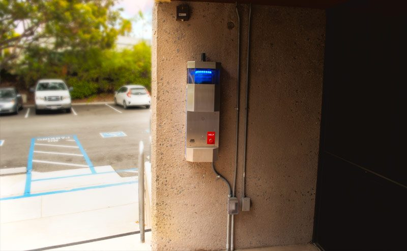 MiraCosta College E-Phone Emergency Phone Installation